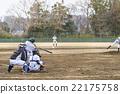 棒球 击球 捕手 22175758