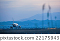 Sendai Airport at the evening and Zao Feng 22175943