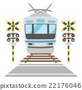 铁路道口 平交路口 火车 22176046