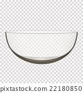 碗 玻璃 透明 22180850