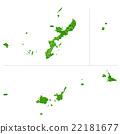 오키나와지도 22181677