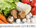 蔬菜 青菜 金针菇 22181981