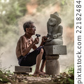 Stone carver 22182484