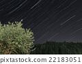 starry sky, spring, heavenly body 22183051