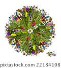 plant vector tropical 22184108