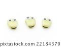 Eye ball sticker / fava beans: wiggly-eyed broad bean 22184379