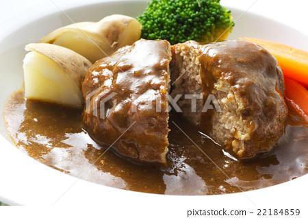 燉肉帕蒂 漢堡 漢堡牛排 22184859