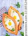 bread with egg 22185524