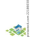 호텔, 입체, 3D 22186030