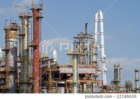 蒸餾塔組煉油廠 22186639