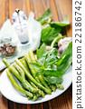 green asparagus 22186742