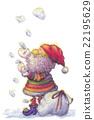 サンタクロース 22195629