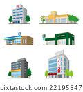 건물 / 입체 도형 22195847