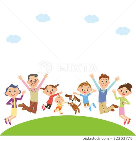 一個開朗的三代家庭 22203779