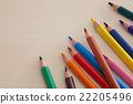 ดินสอ,ดินสอสี,เครื่องเขียน 22205496