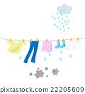 ฝนตก,ซักผ้า,ซักรีด 22205609