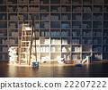 library interior 22207222