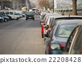 Cars Parked in a row 22208428