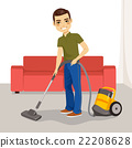 Man Vacuum Cleaner 22208628
