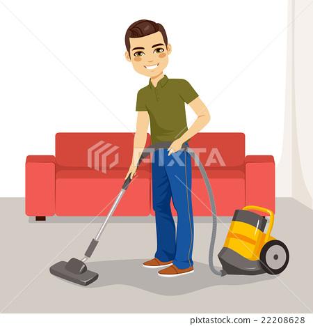 Man Vacuum Cleaner 22208628