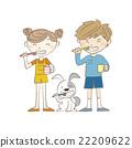 矢量 同胞 兔 22209622