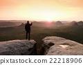 valley, trekking, trekker 22218906