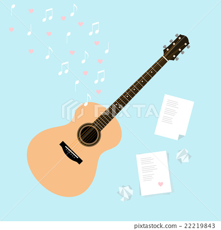 Vector Valentine's day template cards serenade 22219843