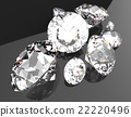 gemstones 3d render 22220496