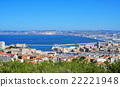 aerial view of Marseille, France 22221948
