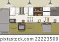 interior, design, vector 22223509