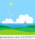 푸른, 녹색, 리조트 22225677