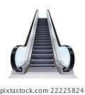 Realistic Escalator Illustration 22225824