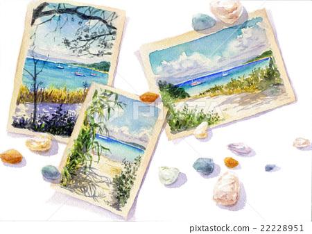 해변의 엽서 22228951