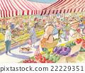 菜市場 晨集 購物 22229351