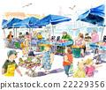 菜市場 晨集 購物 22229356