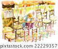 菜市場 人物 人 22229357
