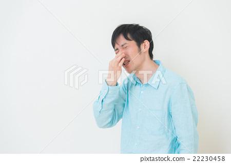 Men that keep nose 22230458