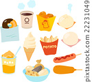Convenience store snacks, snacks 22231049