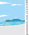 enoshima, blue water, marine 22231589