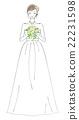 婚禮 新娘 結婚禮服 22231598