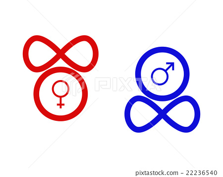 Symbols Of Gender Stock Illustration 22236540 Pixta
