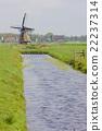 windmill, windmills, canal 22237314