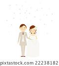 新郎新娘 婚禮 燕尾服 22238182
