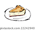 奶酪蛋糕 蛋糕 食物 22242940