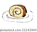 蛋糕 瑞士卷 果冻卷 22242944
