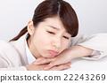 事業女性 休息 打破 22243269