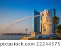 The Merlion fountain park 22244575