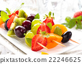 Fruits on sticks. 22246625