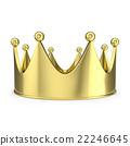 金色 冠 王冠 22246645