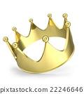 金色 冠 王冠 22246646